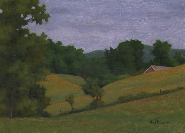 Tennessee Fourth - Original Landscape Painting by Paul Keysar