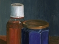 Ultramarine Blue Dark, Original Still Life painting by Paul Keysar